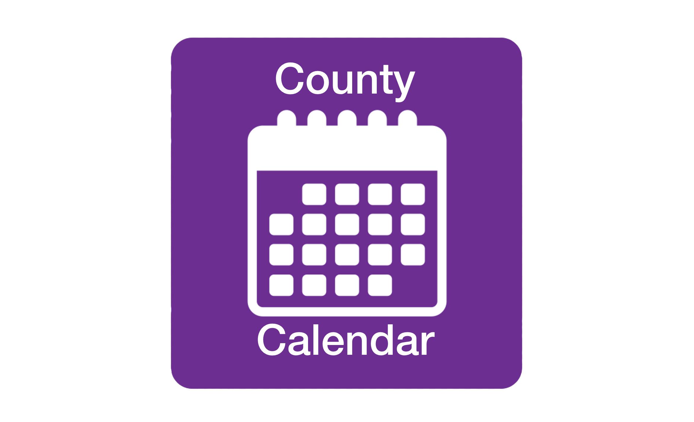 Laurens County Calendar